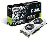 ASUS DUAL-GTX1060-O3G Dual Fan GTX1060 3GB Overclocked GDDR5 - White image