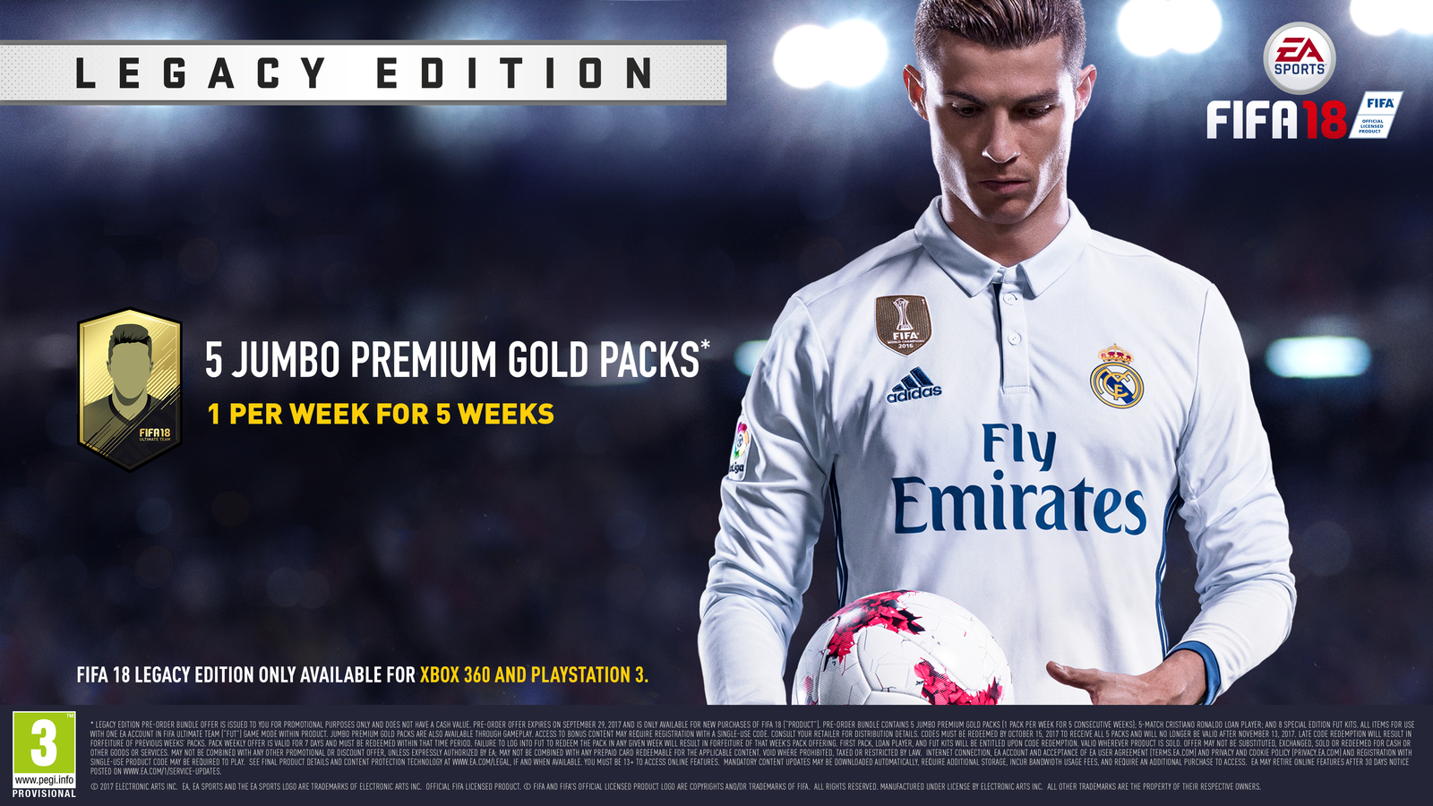 FIFA 18 Legacy Edition for Xbox 360 image