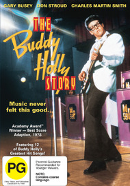 The Buddy Holly Story on DVD image