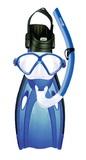 Mirage: F05 Comet - Junior Mask, Snorkel & Fin Set - Large (Blue)