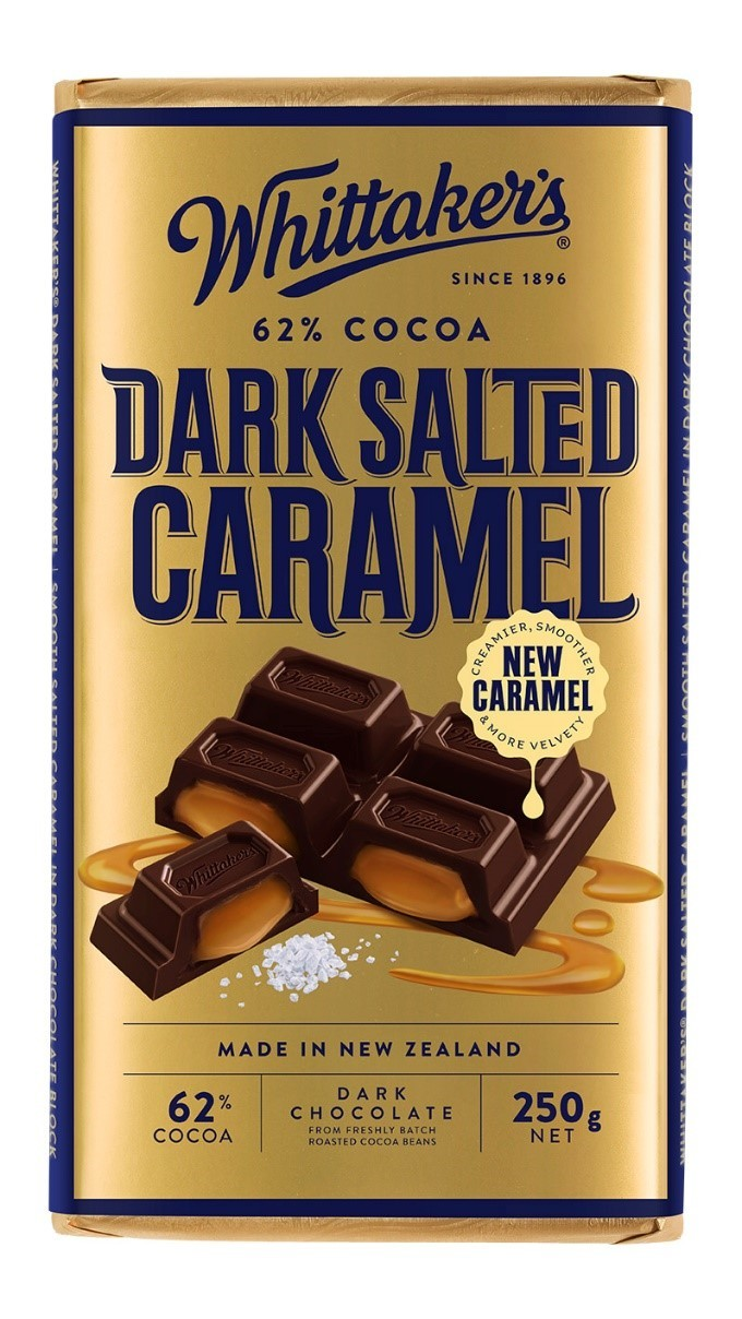 Whittakers: 62% Cocoa Dark Salted Caramel (250g) image