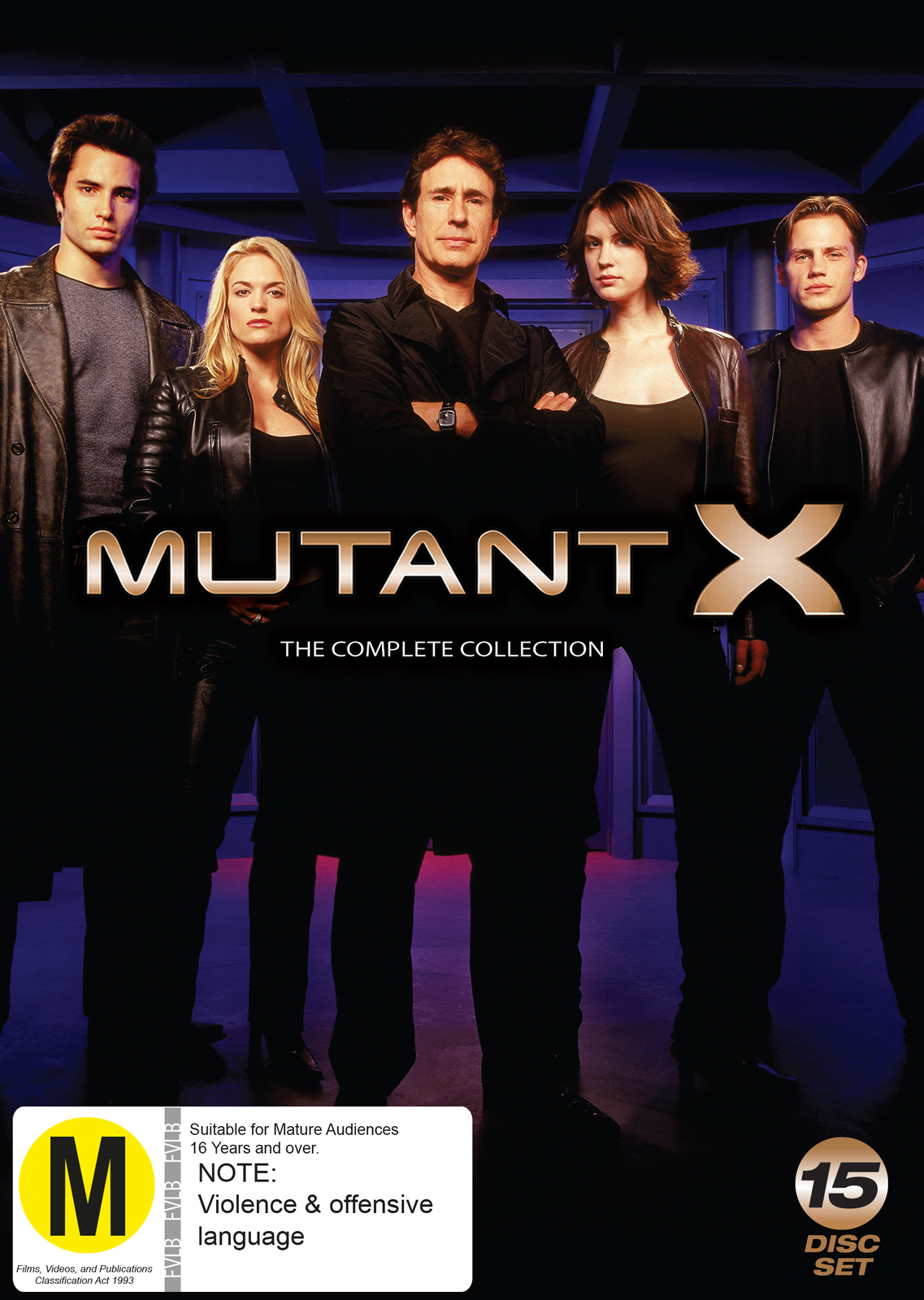 Mutant X Full Collection on DVD image