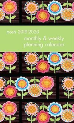Posh: Flower Power 2019-2020 Monthly/Weekly Planner by Mary Engelbreit image