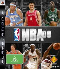 NBA '08 for PS3 image