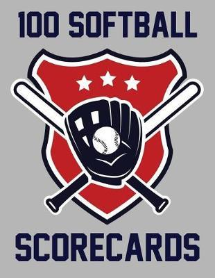 100 Softball Scorecards by Francis Faria