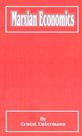 Marxian Economics by Ernest Untermann image