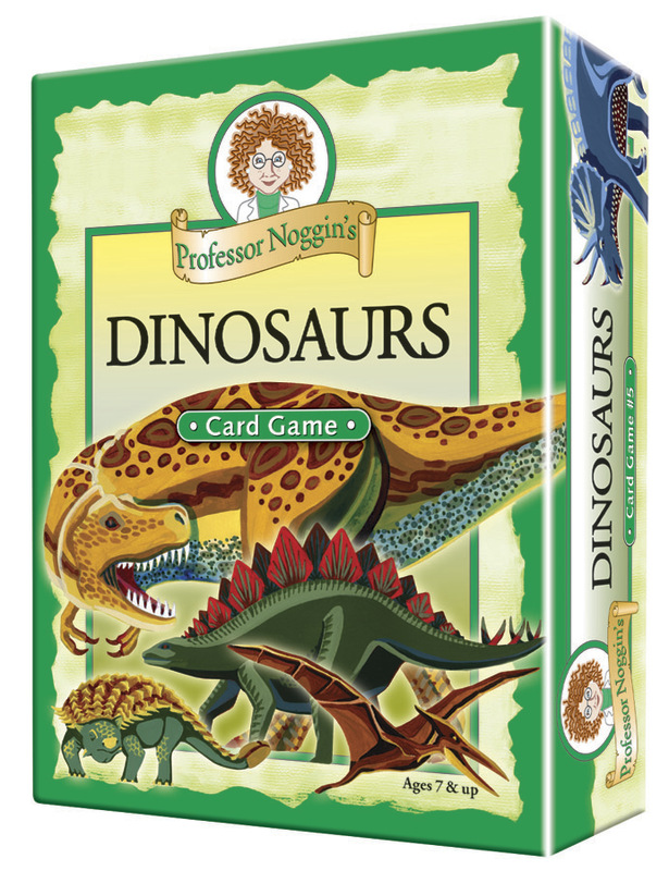 Professor Noggins: Dinosaurs Card Game