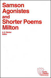 Samson Agonistes and Shorter Poems by John Milton