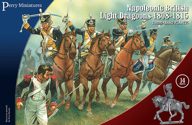 Napoleonic British Light Dragoons 1808-15