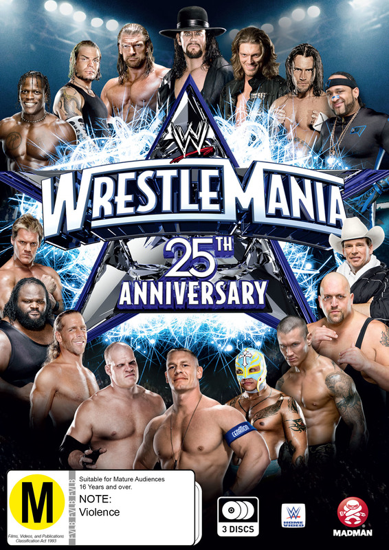 WWE - WrestleMania 25 on DVD