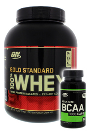 Optimum Nutrition Gold Standard 100% Whey - Strawberry (2.27kg)