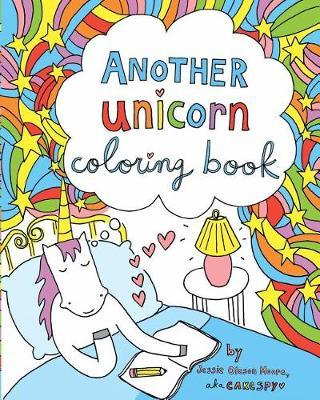 Another Unicorn Coloring Book by Jessie Oleson Moore