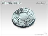 Tabletop-Art: Ancestral Ruins Base #2 - (60mm)