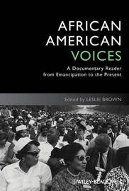 African American Voices by Leslie Brown