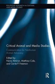 Critical Animal and Media Studies image