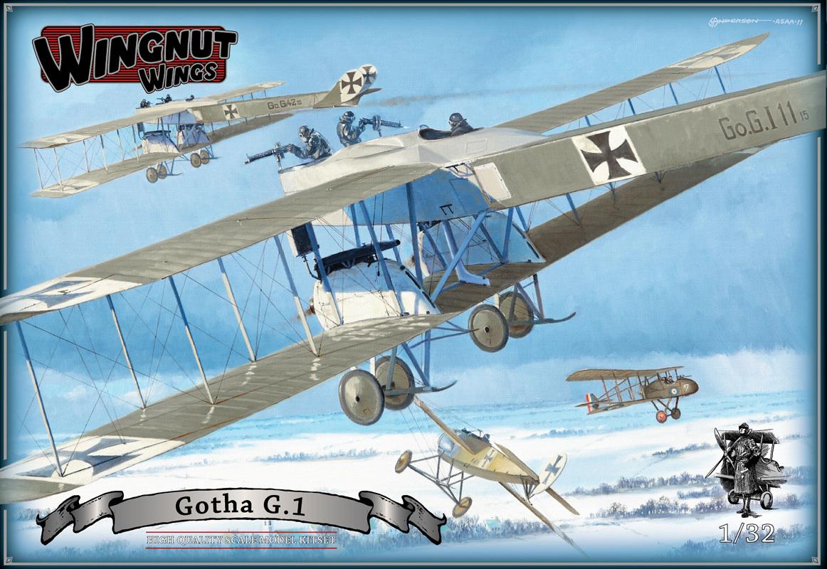 Wingnut Wings 1/32 Gotha G 1 Model kit