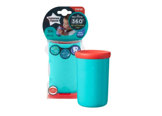 Closer to Nature Easiflow 360 Cup 250ml - Teal