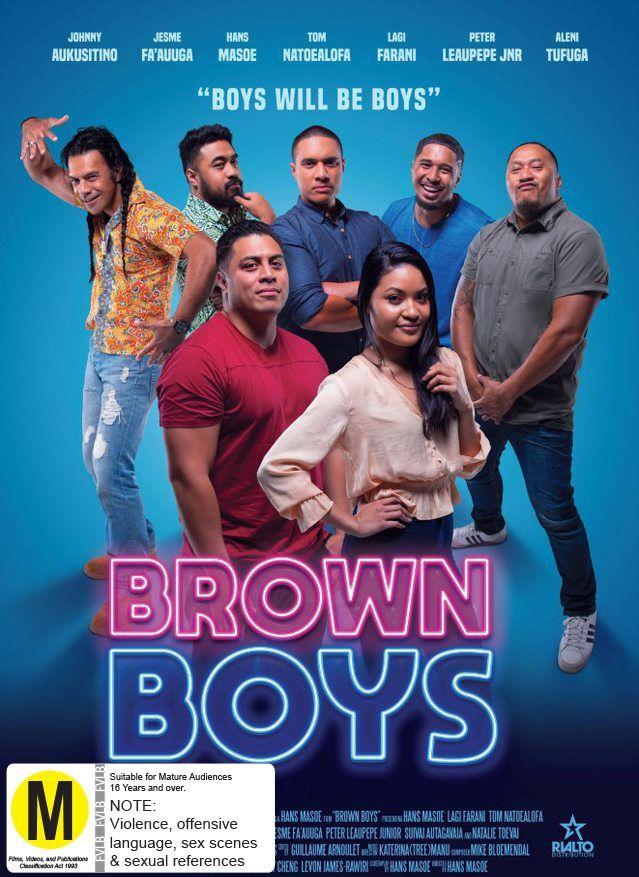 Brown Boys on DVD image