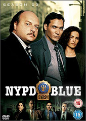 NYPD Blue - Season 3 (6 Disc) on DVD