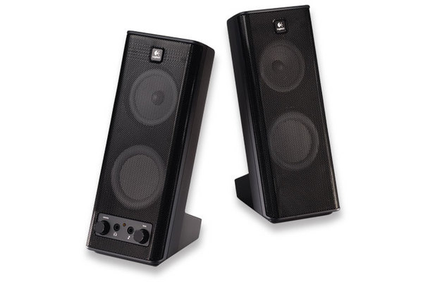Logitech X-140 (2.0 - 5W) Speakers image