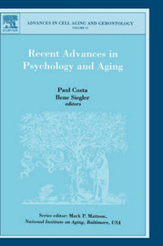 Recent Advances in Psychology and Aging: Volume 15 image