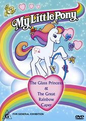 My Little Pony - The Glass Princess/The Great Rainbow Caper on DVD