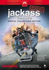 Jackass - The Movie on DVD