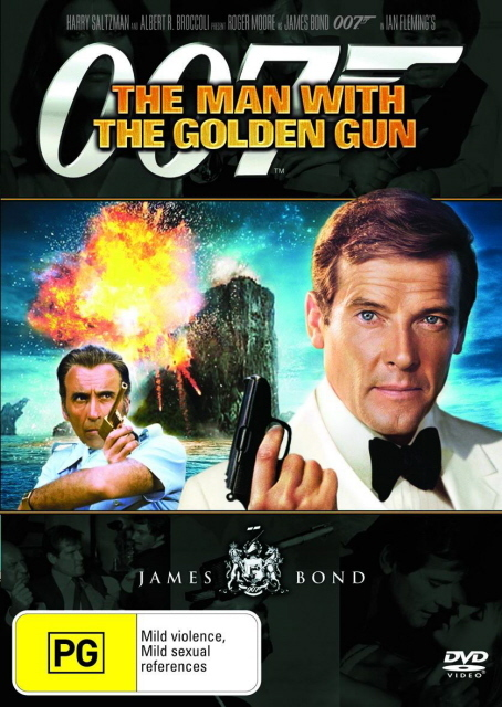 James Bond - The Man with the Golden Gun on DVD