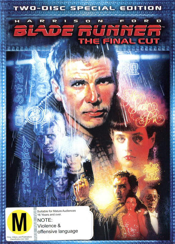 Blade Runner - The Final Cut: Special Edition on DVD