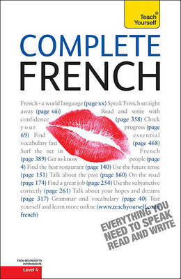 Complete French, Level 4 by Gaelle Graham image