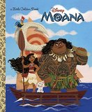 Moana Little Golden Book by Laura Hitchcock