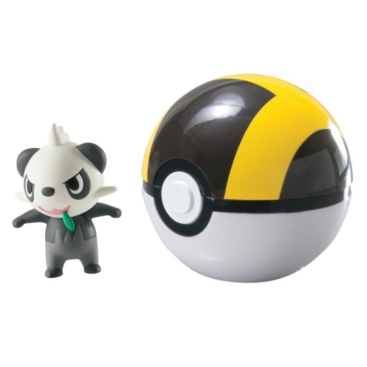 Pokemon: Clip n Carry - Pancham & Ultraball image