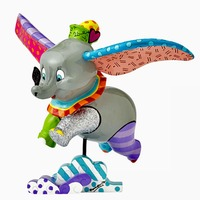 Romero Britto - Dumbo Flying Figurine - Large