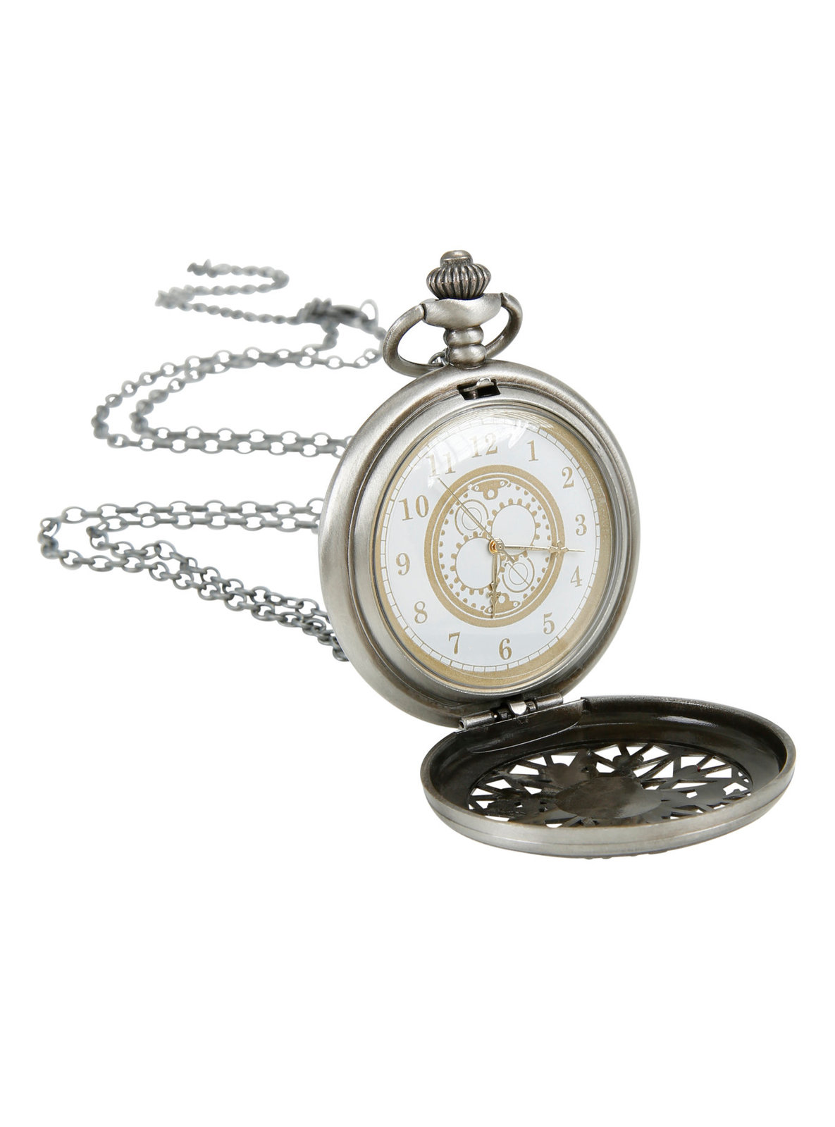 Neon Tuesday: Alice In Wonderland - Late Rabbit Pocket Watch Necklace image