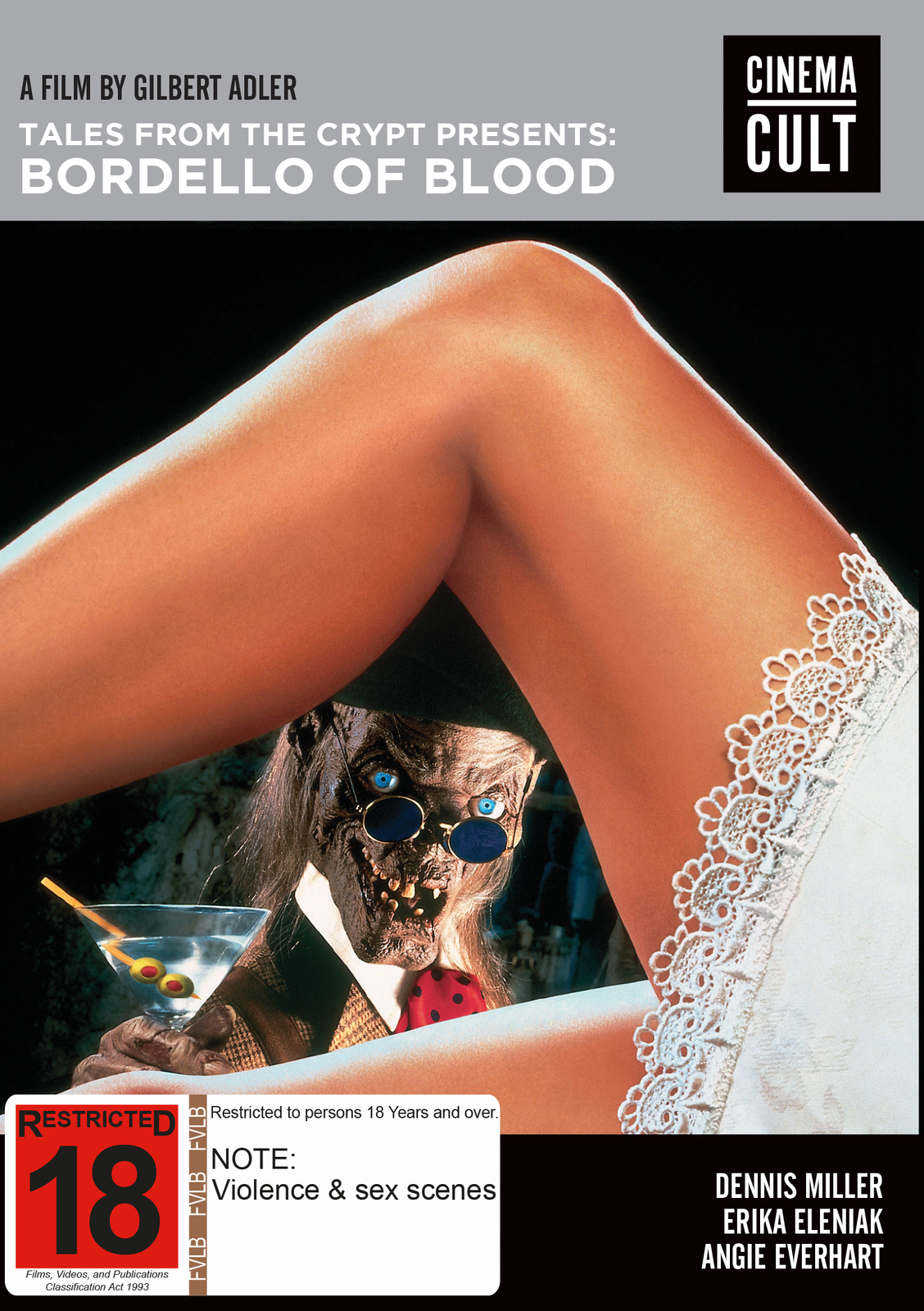 Tales From the Crypt Presents Bordello of Blood on DVD image