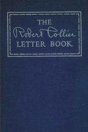 The Robert Collier Letter Book by Robert Collier image