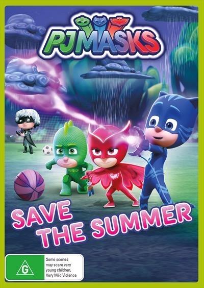 PJ Masks: Save The Summer on DVD