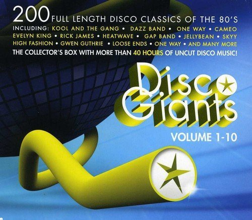 Disco Giants, Vols 1 - 10 by Various Artists
