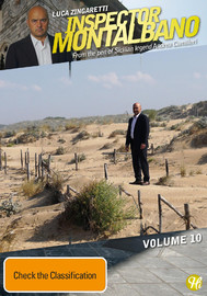 Inspector Montalbano Vol 10 on DVD