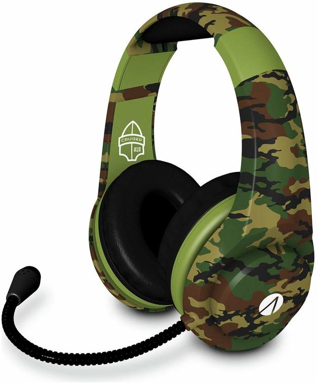 STEALTH XP-Cruiser Woodland Camo Multi Format Stereo Gaming Headset for PS4