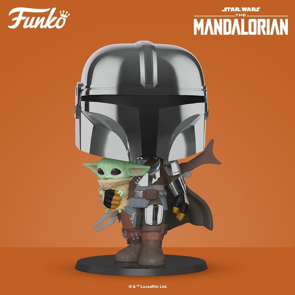 "Star Wars: The Mandalorian - 10"" Super Sized Pop! Vinyl Figure image"