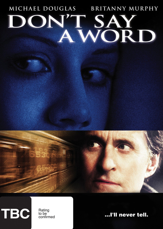 Don't Say A Word on DVD