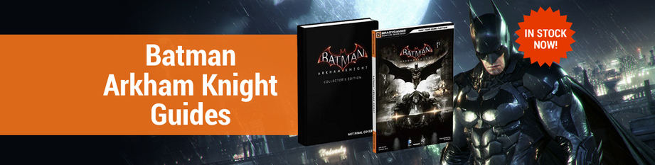 Batman Arkham Books