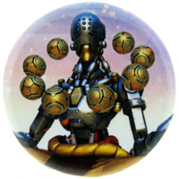 Overwatch Button - Zenyatta