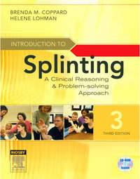 Introduction to Splinting by Brenda M Coppard image