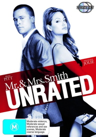 Mr And Mrs Smith - Unrated on DVD image