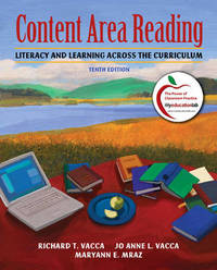 Content Area Reading: Literacy and Learning Across the Curriculum by Richard T. Vacca image