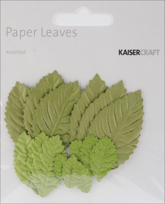 Kaisercraft: Embellishments - Assorted Paper Leaves