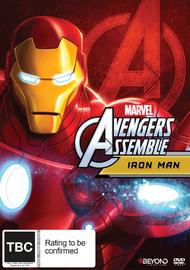 Avengers Assemble: Iron Man on DVD