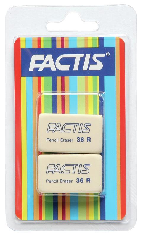 Factis: 36R Eraser (2 Pack)